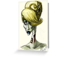 Detox portrait  Greeting Card