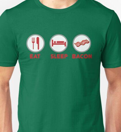 Eat Sleep Bacon Unisex T-Shirt