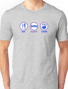 Eat Sleep Cook Unisex T-Shirt