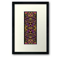 One Line Framed Print
