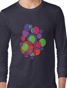 Circles of colour! Long Sleeve T-Shirt