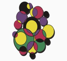Circles of colour! Kids Tee