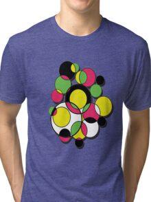 Circles of colour! Tri-blend T-Shirt