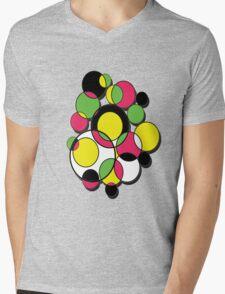 Circles of colour! Mens V-Neck T-Shirt