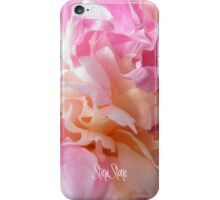 Pretty Peony 3 iPhone Case/Skin