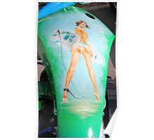 surfer tank girl Poster