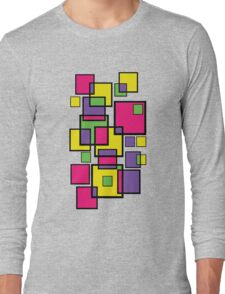 An abstract of squares! Long Sleeve T-Shirt