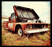 old chevy pick up truck by toddedenborough