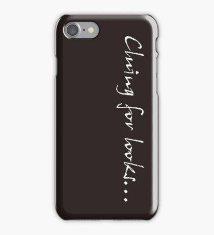 Cluing for looks... - Sherlock iPhone Case/Skin