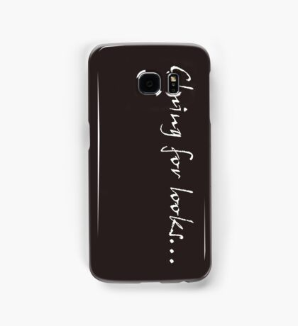 Cluing for looks... - Sherlock Samsung Galaxy Case/Skin