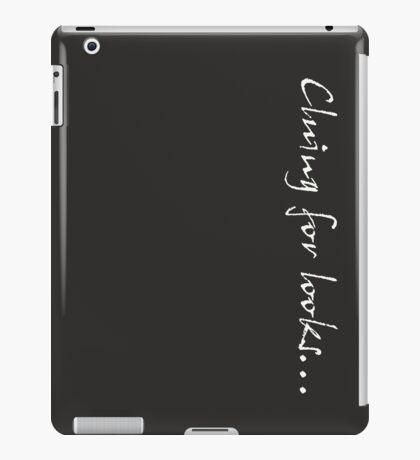 Cluing for looks... - Sherlock iPad Case/Skin