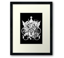 The Great Houses Framed Print