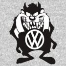 VW Tazmania T-Shirts & Hoodies by iber