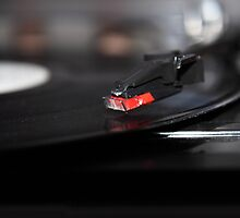 Old Record Player by TilenHrovatic