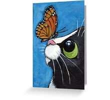 Baby and the Viceroy Greeting Card