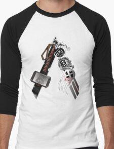 Asgardian Pride (Blood) Men's Baseball ¾ T-Shirt