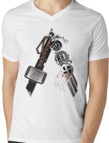 Asgardian Pride (Blood) Mens V-Neck T-Shirt