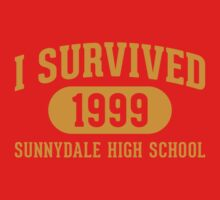 I Survived Sunnydale High Kids Tee