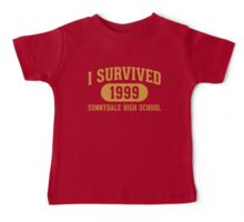 I Survived Sunnydale High Baby Tee