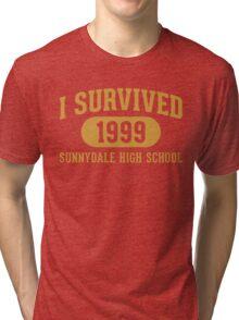 I Survived Sunnydale High Tri-blend T-Shirt