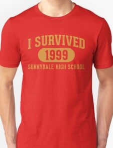 I Survived Sunnydale High Unisex T-Shirt