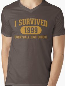 I Survived Sunnydale High Mens V-Neck T-Shirt