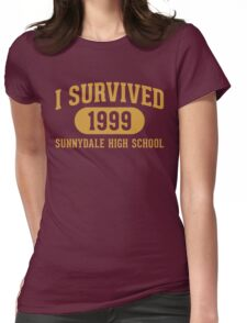 I Survived Sunnydale High Womens Fitted T-Shirt