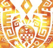 Monster Hunter 4 Logo FIRE Sticker
