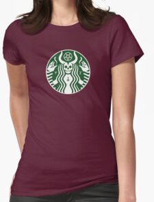 The satan-buck Womens Fitted T-Shirt