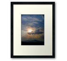 ©HCS Ahura Mazda Paintography Framed Print