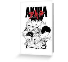 AKIRA cover Greeting Card