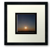 ©HCS Smoke Filter I Framed Print