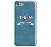 Do The Impossible iPhone Case/Skin