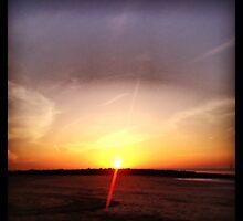 FullMoon Sunset by ambersyard