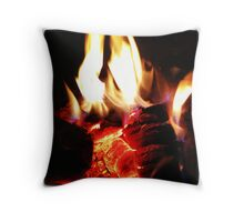 FullMoon Fire Throw Pillow