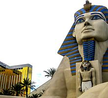Luxor & THEhotel by Mikell Herrick