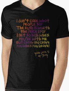 Your love is my high - Kesha Rose Sebert Mens V-Neck T-Shirt