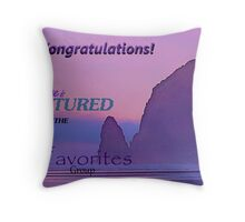Featured Banner #1 Fave Throw Pillow