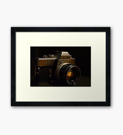 Minolta Framed Print