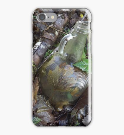 Old Glass Jar iPhone Case/Skin