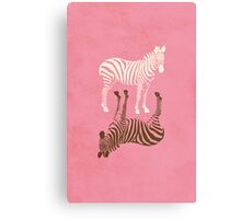 Zebras Pattern Canvas Print