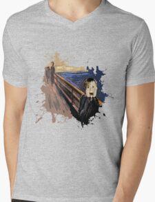 Scream Alone Mens V-Neck T-Shirt