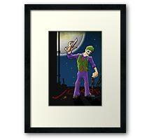 the clown prince Framed Print