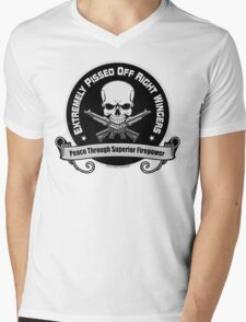 Extremely Pissed Off Right Wingers Mens V-Neck T-Shirt