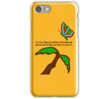 The Butterfly Effect iPhone Case/Skin