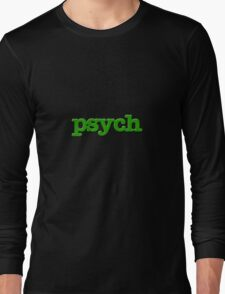 Psych Design Long Sleeve T-Shirt
