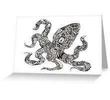Aorta VI Squid Greeting Card