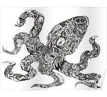 Aorta VI Squid Poster
