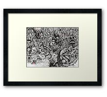 Nightmare (Issue III Cover) Framed Print