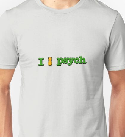 I Love Psych Design Unisex T-Shirt